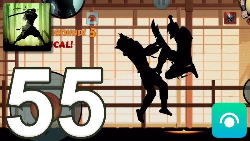 Shadow Fight 2 - Gameplay Walkthrough Part 55 - Interlude: Act 4 (iOS, Android)