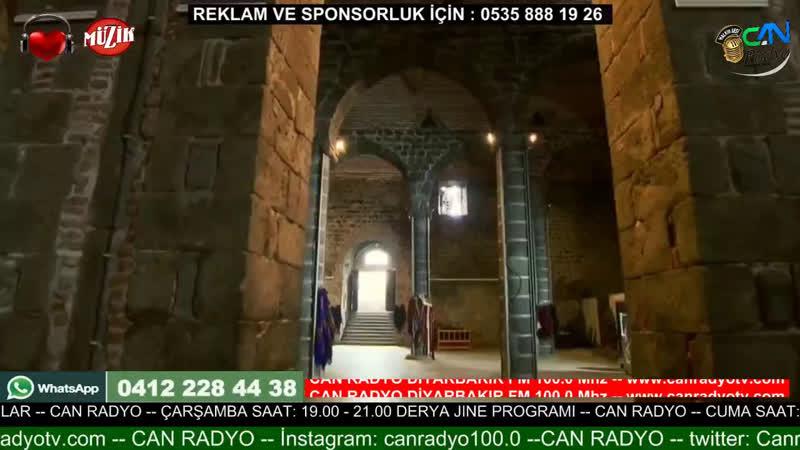 Can Radyo - live via Restream.io