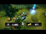 Chase, fight and escape by Na'Vi vs Alliance @ Starladder 8