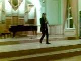 Флоран О, игра на кларнете и стэп!