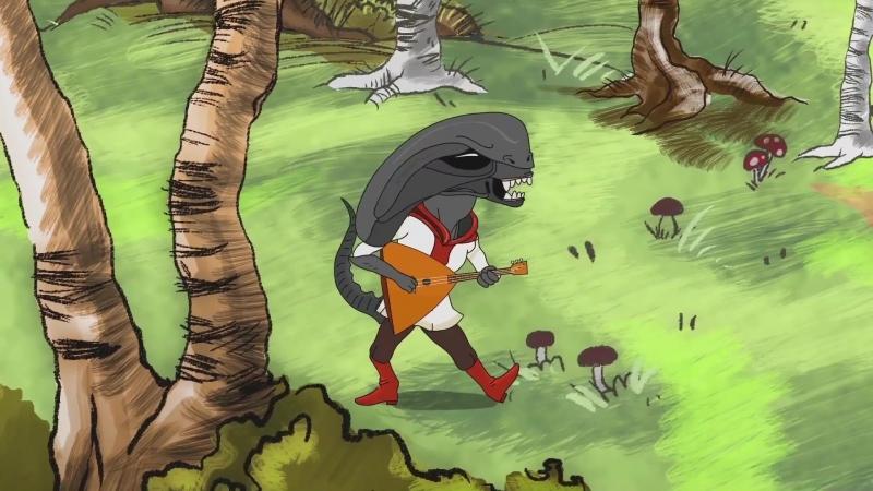 Осторожно земляне! (Студия анимации 2х2) криповый опенинг