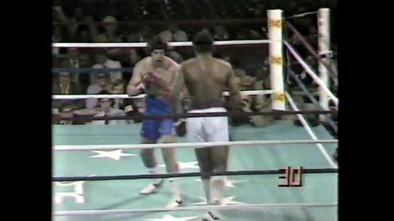 Альфредо Евангелиста vs Грег Пейдж (полный бой) [12.06.1981]