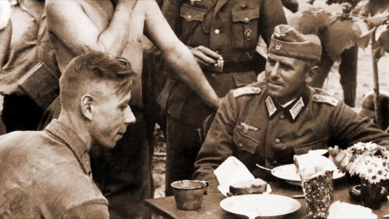 Как немцы обращались с пленными офицерами Красной Армии