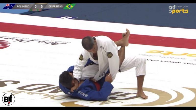 Paolo Polimeno vs Marcelino De Freitas 8 f TokyoGS2018