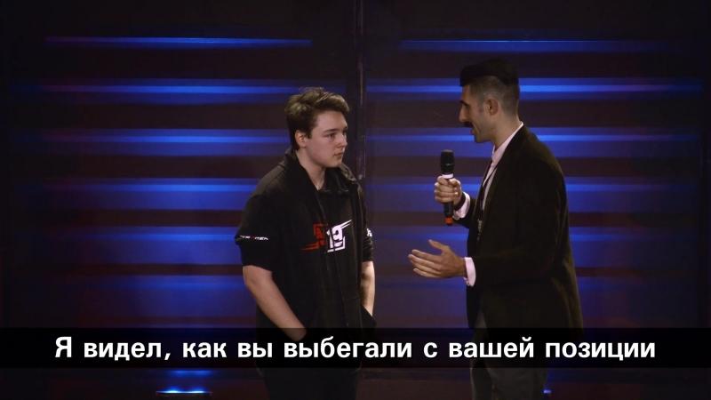 Интервью BatulinS после победы на седьмой карте StarSeries i-League PUBG S2