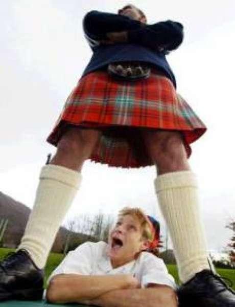 Шотландский народный костюм детский