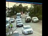 Вчера 28.07.18 ударили мне машину и скрылись с место ДТП , в широкой балке возле пансионата Садко