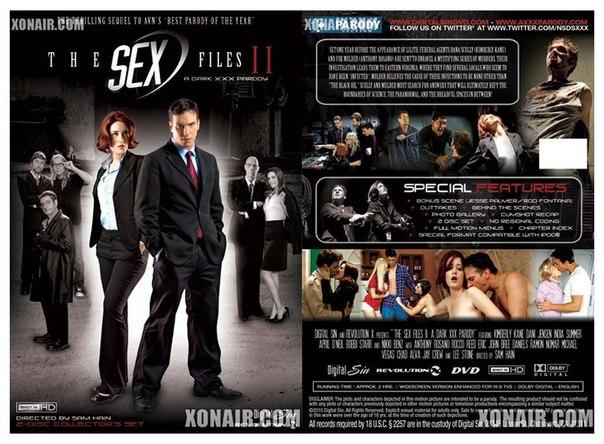 The sex files 2-порно пародия
