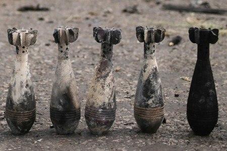Вблизи госграницы в Ростовской области найдены неразорвавшиеся мины, прилетевшие из Украины