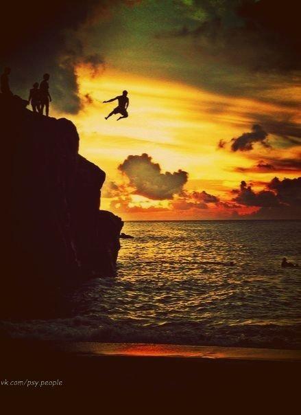 прыжок в неведомое