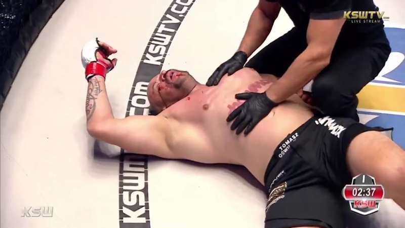 Erko Jun defeats Tomasz Oświeciński via KO TKO at 2:22 of Round 1