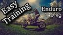 Легкая разминка тренировка на тяжелом Racer Enduro RC250XZR