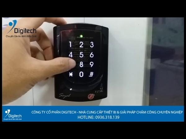 Digitech Media | Hướng dẫn đăng ký thẻ MasterCard trên thiết bị Soyal