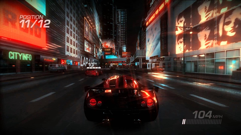Ridge Racer Unbounded PC - EPIC DESTRUCTION HD Gameplay max settings 1080p