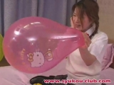 Sexy girl balloon fetish BTP B2p Blow to pop(480p_H.264-AAC)
