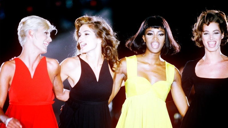 Legendary runway walks of 90s