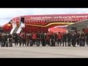 В Шереметьево приземлился самолет сборной Бельгии Россия 24