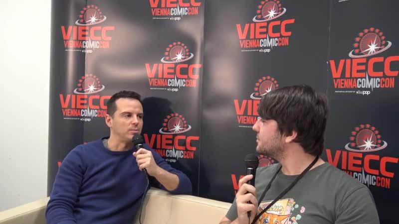 Vienna Comic Con Interview with Andrew Scott (James BondSherlock)