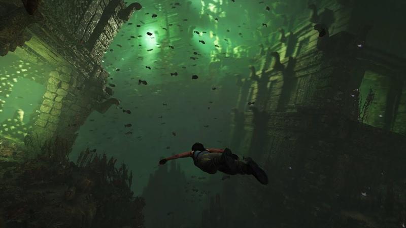 Shadow of the Tomb Raider Underwater Survival PEGI