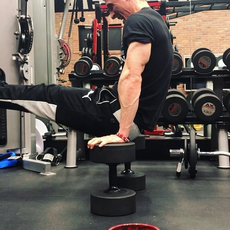 "ATHLEAN-X™ | Jeff Cavaliere on Instagram ""Ok, this one flat out kills...but it's awesome! It's equal parts core, conditioning, and chest. Try and..."