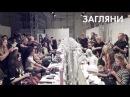 Показ коллекции Даши Гаузер осень-зима 14/15 «Птицы» с макияжем для волос Hairchalk