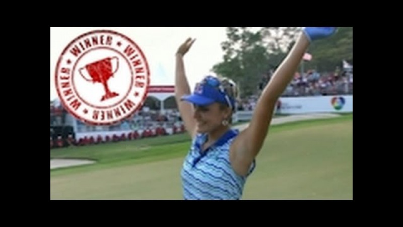 Lexi Thompson's Terrific Golf Shots 2016 Honda Thailand LPGA Tournament