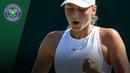 Marta Kostyuk wins Qualifying epic at Wimbledon