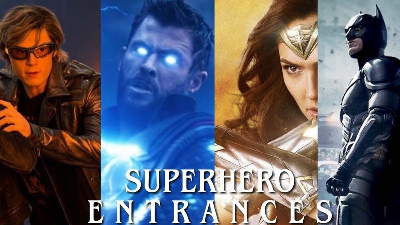 Top 15 Most Epic Superhero Entrances (Remake)