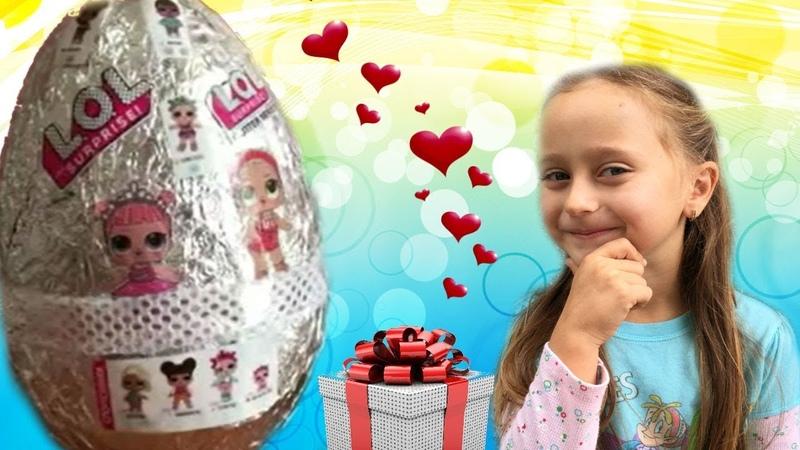 Самодельный ЛОЛ СЮРПРИЗ от Мелиссы - LOL Sisters SURPRISE - Куколки Лол Сестрички - Video For Kids