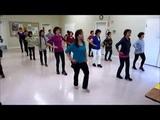 La Cumparsita -Tango ~ Paolo Y Nicola - Line Dance (Walk thru &amp Dance)