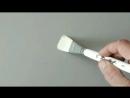 Кисти roubloff из белой синтетики
