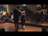 Mark Carpenter &amp Kelly Howard - Fusion Improv Dancing at Sydney Blues 2015