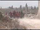 Syria war It's a shock See how the people from Eastern Ghouta meet Syrian soldiers
