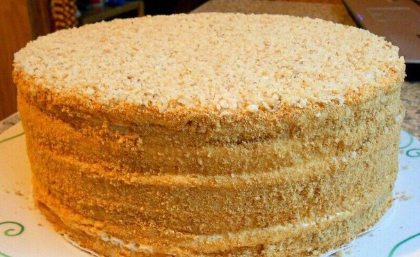 Готовим торт медовый в домашних условиях