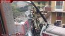 İstanbul Sancaktepe'de askeri helikopter düştü! Olay yerinden ilk görüntüler