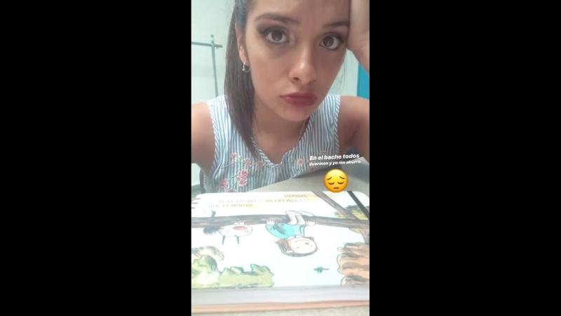Lourdes Fargi en «Instagram Stories»   06.10.18