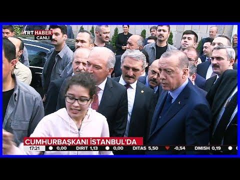 Reis İstanbul'da Vatandaşlarla 25 Mayıs 2018