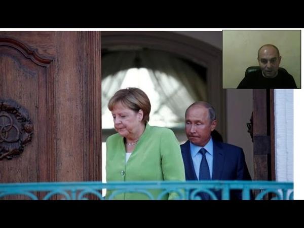 Жесткие переговоры Путина и Меркель