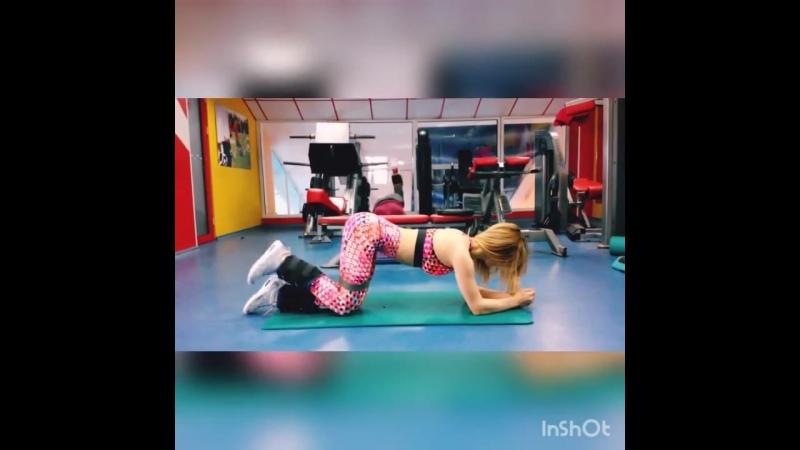 Элемент тренировки с Поляничка Юлия