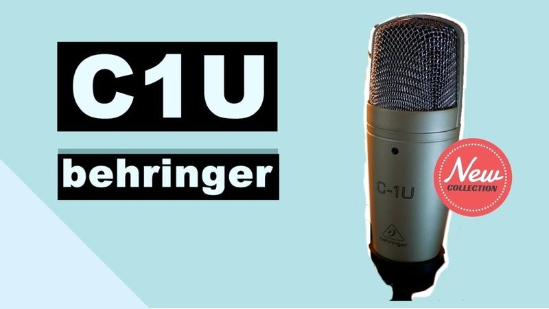 Behringer C-1U – впечатления от студийного микрофона