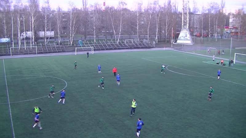 Локомотив-РПМ 4-2 Лебеди (1 тайм)
