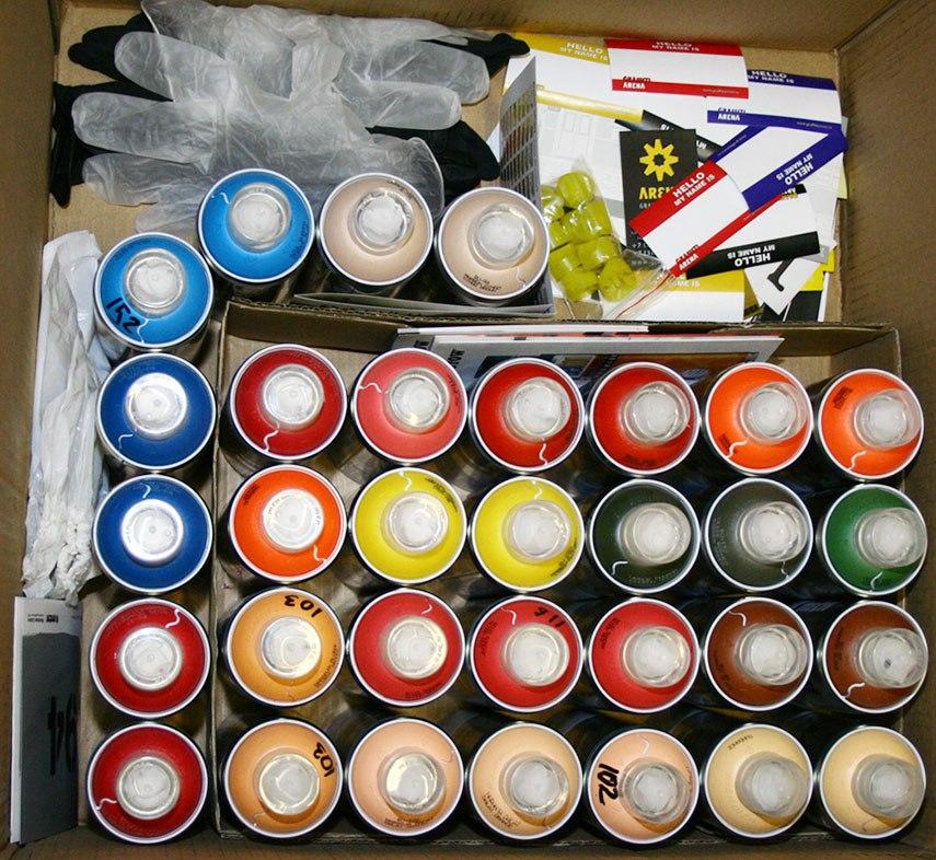 Посылка Краска для граффити MTN 94