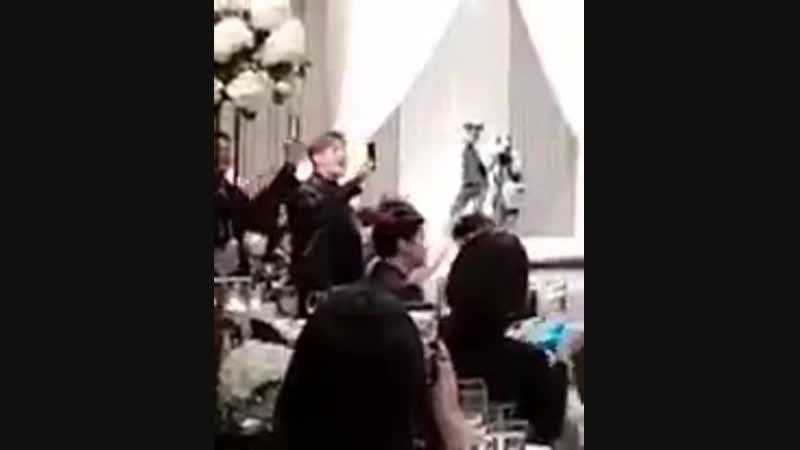 181202 GOT7 на свадьбе стаффа JYP