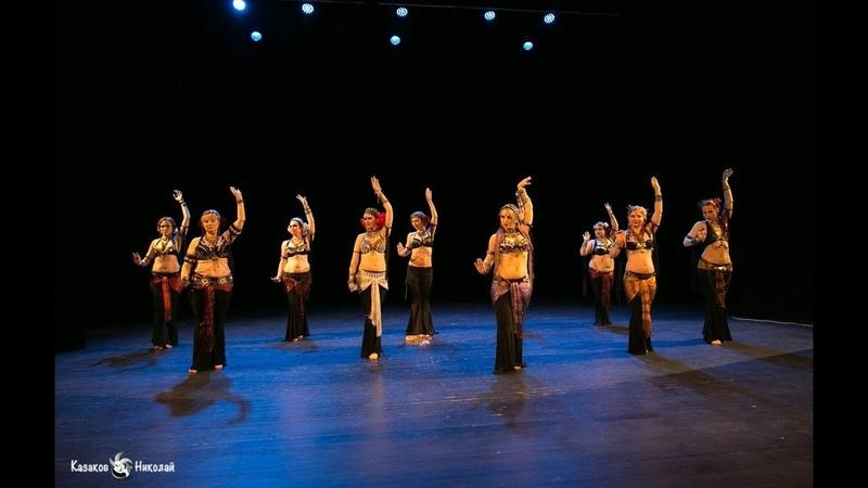 Sirin Tribe students - tribal fusion Nineveh @ Отчетный концерт 2018 Хореография Татьяна Morgetta