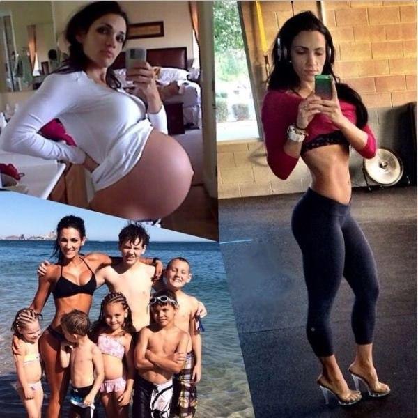 ⚠ Секрет сногсшибательной фигуры 35-летней матери шестерых детей Деборы Гудмен