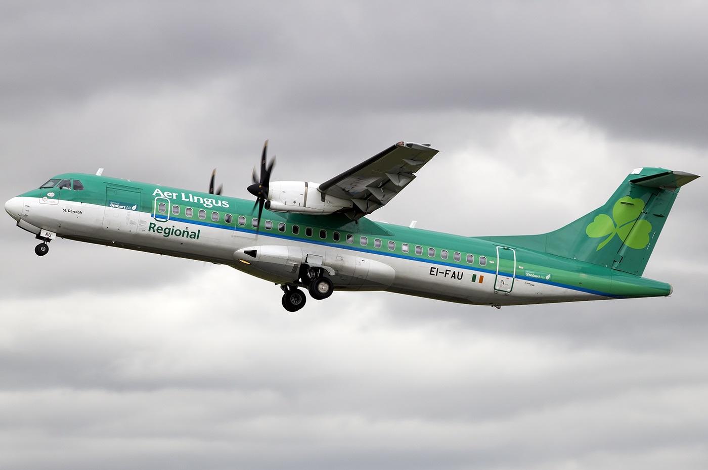 ATR-72 авиакомпании Aer Lingus Regional