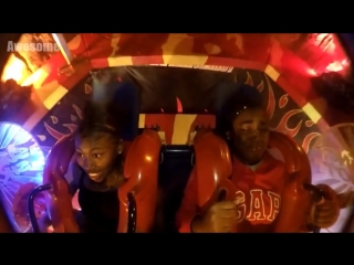 Girls Passing Out - Funny Slingshot Ride Compilation.mp4