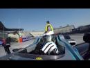 Carmen Jorda Drives the ABB Formula E Car in Mexico