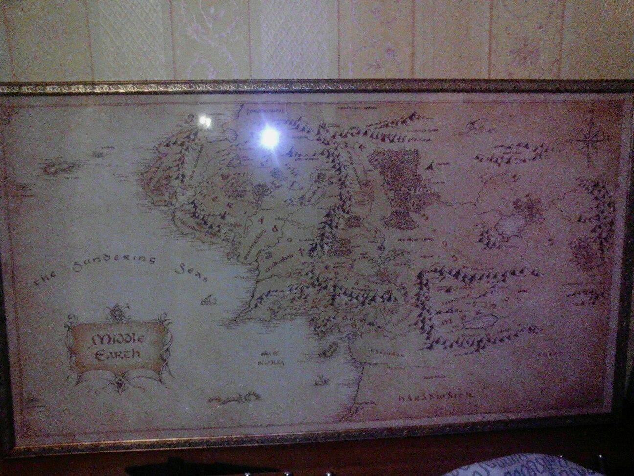 Отзыв на карту Средиземья