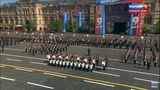 Мы - армия страны и марш Прощание Славянки. Парад Победы 2018
